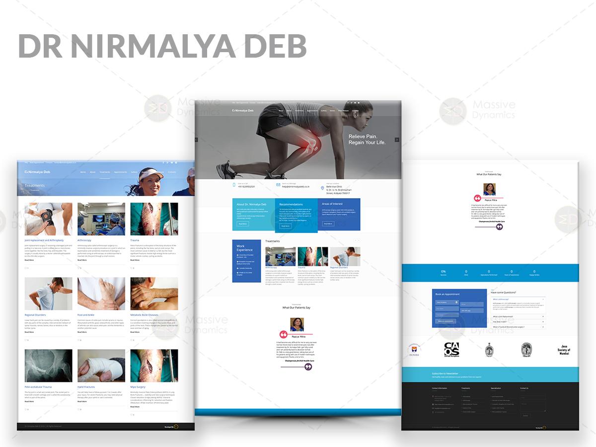 Dr Nirmalya Deb